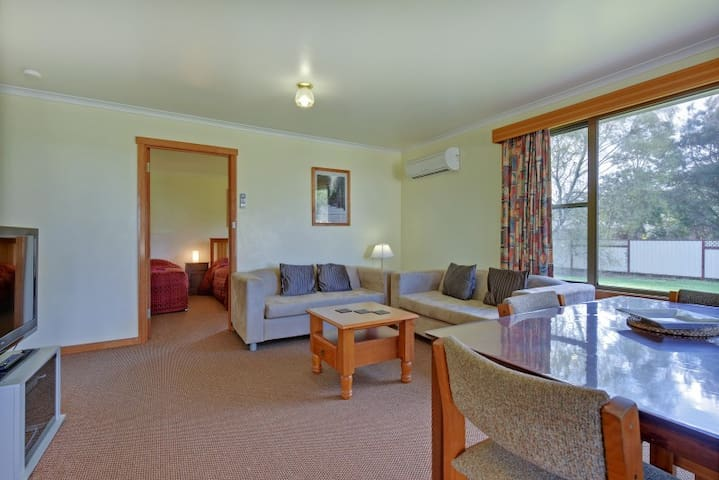 Spacious 2 bedroom apartments suitable for couples or families.