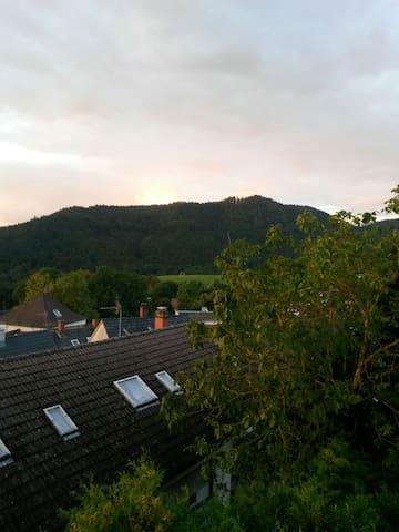 Ferienwohnung Marianne mit herrlicher Aussicht - Badenweiler - Lägenhet