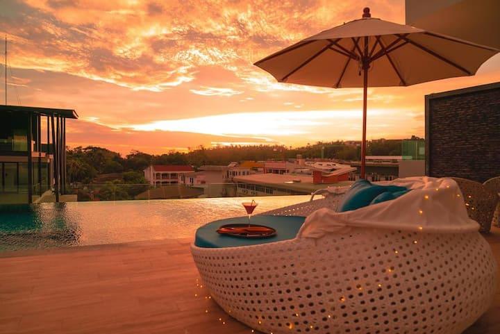Luxury condominium, infinity pool, gym, Kata Beach