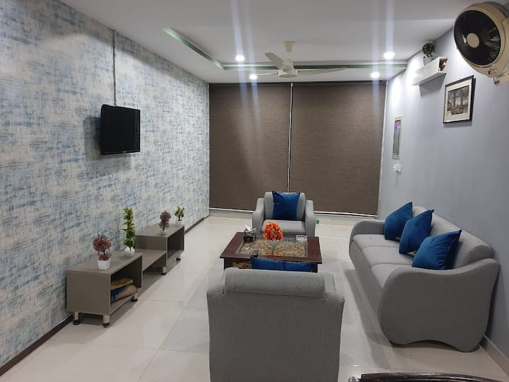 2 Bedroom Private Apartment near Airport Lahore