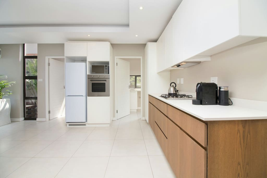 Fully fitted kitchen with scullery