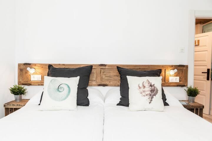 Hab.Doble Superior (dos camas) en Celorio