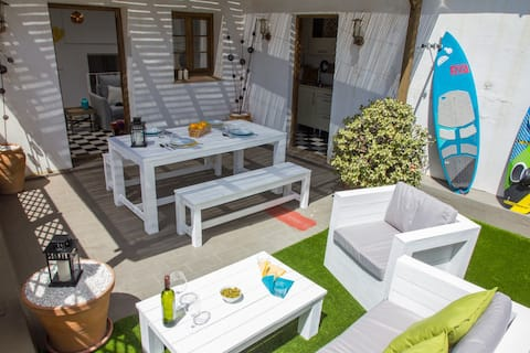 Appartement met airconditioning -Oud Town Tarifa- Gerenoveerd