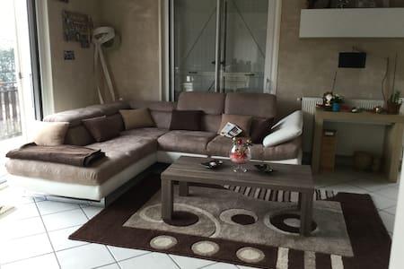 Chambre avec piscine - Saint-Martin-la-Plaine - Casa