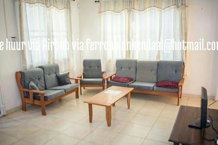 vakantiewoning op een toplocatie! - Paramaribo - House