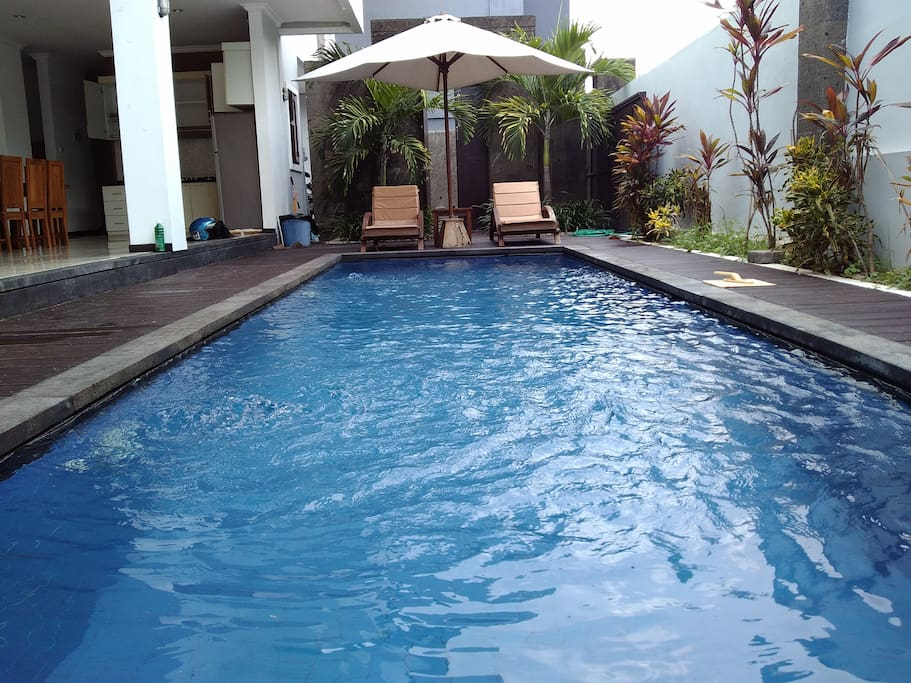 Private Large pool with 3*7 m2