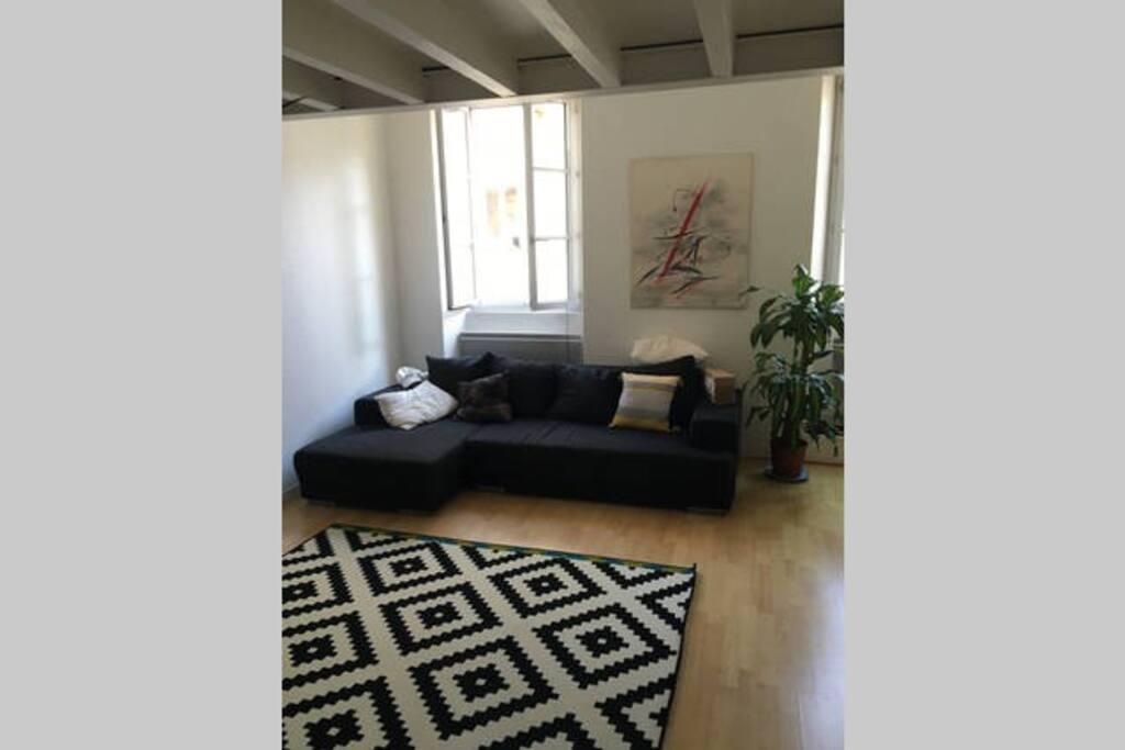 Chambre double dans beau duplex bordeaux centre for Duplex bordeaux