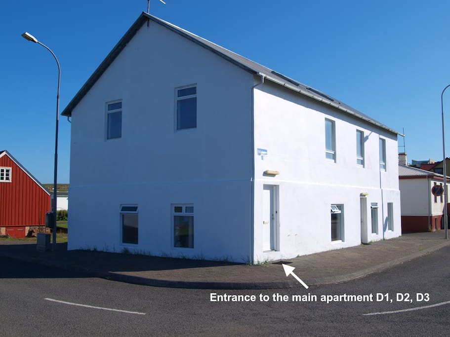 Guesthouse Daniel - situated right next to one of the oldest houses of Iceland