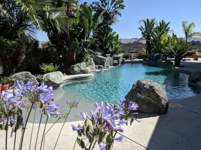 Serenity-Tropical Glamping Site-San Luis Obispo Co