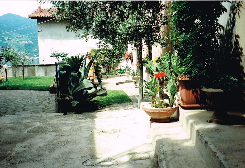 entry and first garden