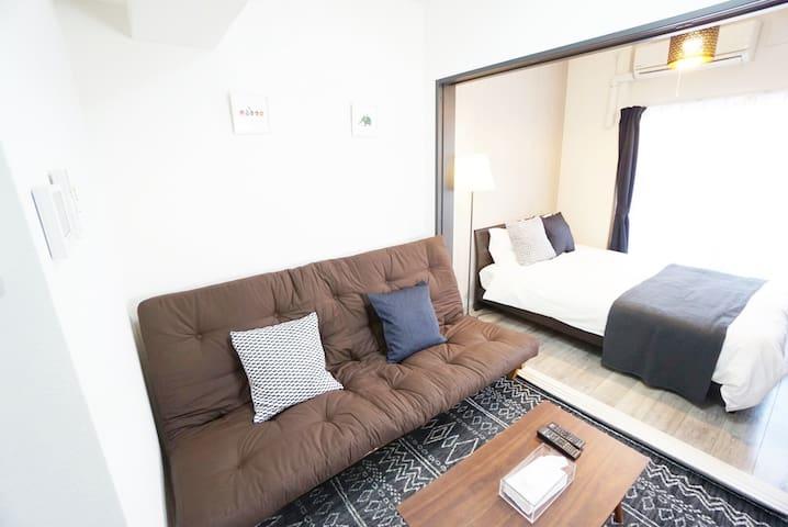 9 minutes Dotonbori! New luxury apartment#RVDQ71