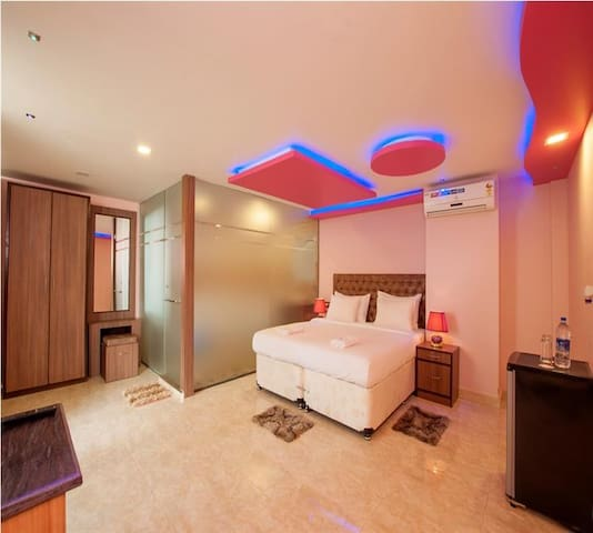 Super deluxe room @ Ashvem beach - Mandrem