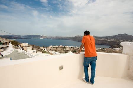 See Santorini Cave apartment with sea view 1 - Akrotiri - Cueva