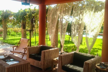 Vineyard villa with swimming pool- 'Ktima Musama' - Kaiafas - Villa