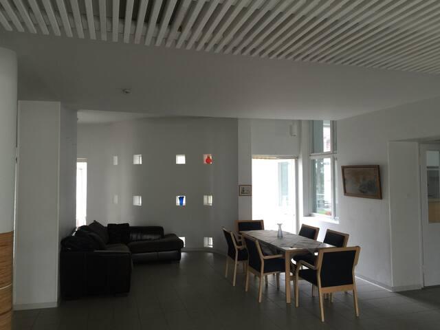 Hotel near lestijoki river
