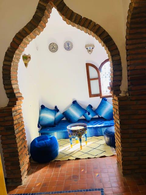 DAR ALAMI Authentic Studio in the Heart of Medina.