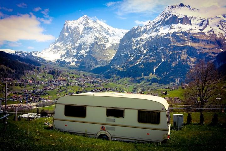Camping Expirence in the Swiss Alps