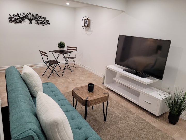 Newly renovated Studio Basement Apt. Port Credit