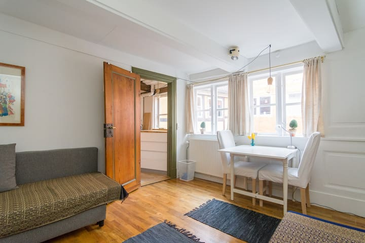 Charming apartment from 1735 in Cph