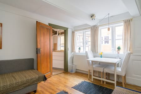 Charming apartment from 1735 in Cph - 哥本哈根 - 公寓