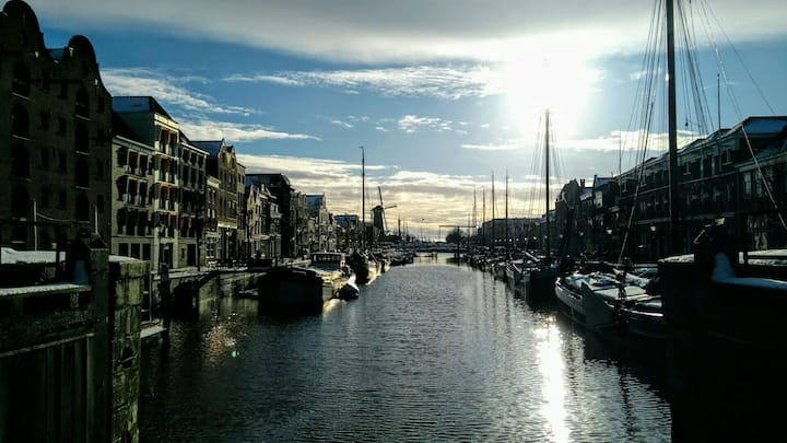 Lovely apartment in Historic Delfshaven, Rotterdam