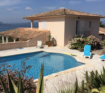Corse du Sud Villa de luxe 15P piscine plage privé - Lecci