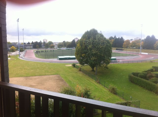 Chambre privée idéale pour étudiant de MSA - Mont-Saint-Aignan - Apartemen