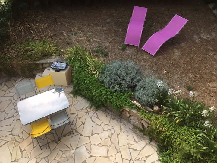 Appart T2  Bas de villa avec jardin privé Var PACA