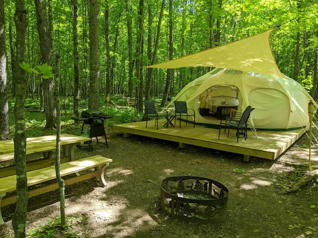 POV Resort Campgrounds - Social Distancing at its Best, Luxury Tent #1 (Yurt-Style)