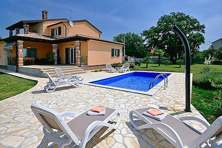 Comfortable Villa Pianta with Pool - Općina Poreč - 別荘