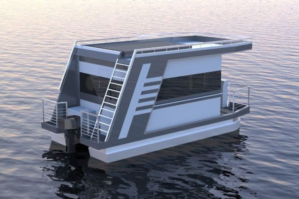 Prototype of the boat