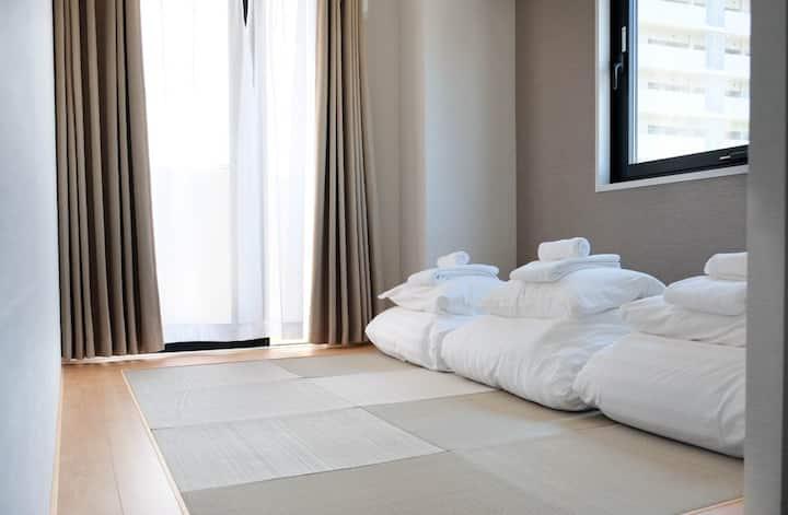 NEW HOTEL ! JAPAN STYLE FAMILY MAX3 /METRO WIFI W9