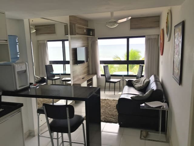 lovely apartment ocean front - Salvador - Daire