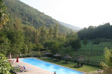 La Bergerie gîte*** à Mas Manyaques - Serralongue - Nature lodge