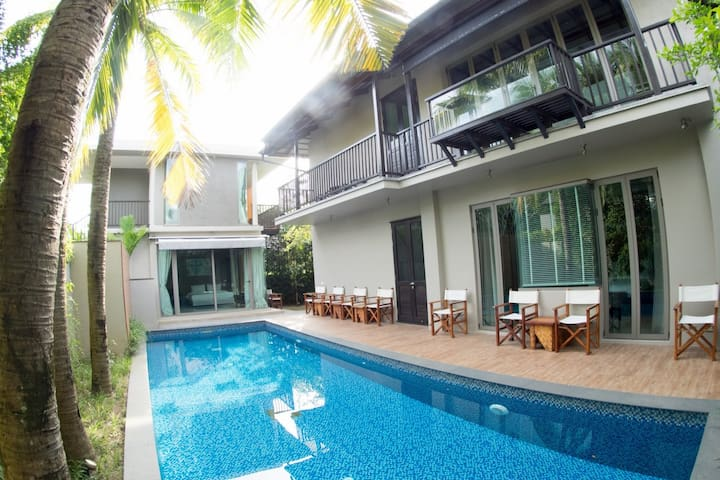 Stunning 4 Bed Private Pool Villa Near Beach (A5) - Choeng Thale