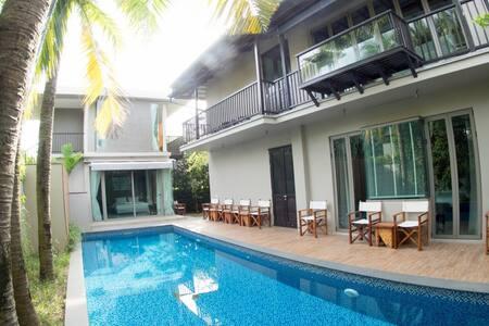 Stunning 4 Bed Private Pool Villa Near Beach (A5) - Choeng Thale - Vila