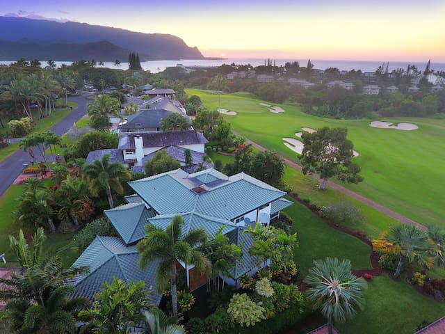 New!! Hale Moana with Mountain & Ocean Views - Princeville - Haus