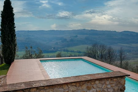 Apt 4 persons in Villa in Chianti - San Casciano in Val di pesa - 公寓