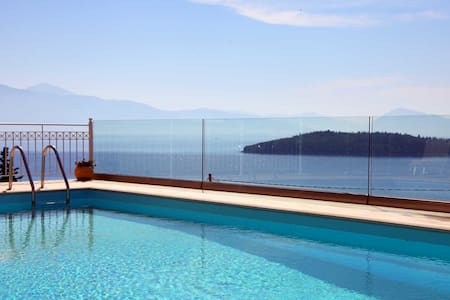 Villa Myrtis, Brand new villa with stunning view close to the beach - Lefkada - Villa