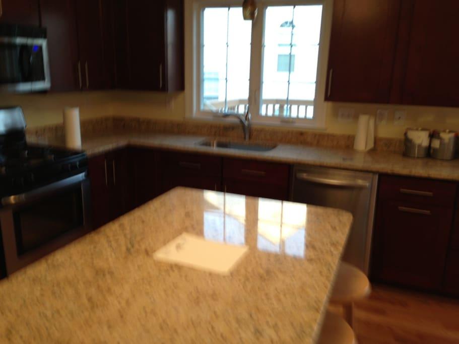 granite top kitchens