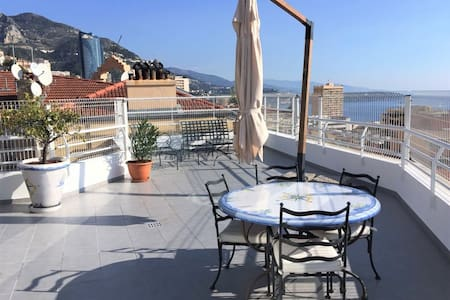 Cozy apartment 5 min from Casino - Beausoleil - Appartement