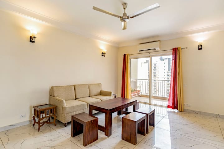 Chic 3 BHK in a plush gated society/73987