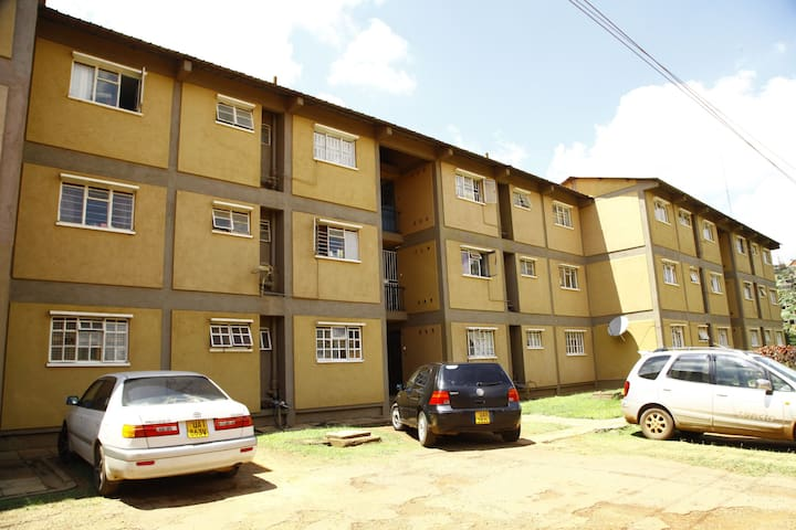 Spacious 2 bedrooms Flat in the city