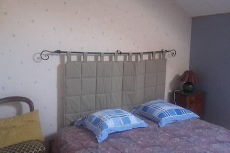 1 ou 2 chambres privées - 2 lits 2P - Chevigny-Saint-Sauveur
