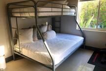 Guest room bunk bed