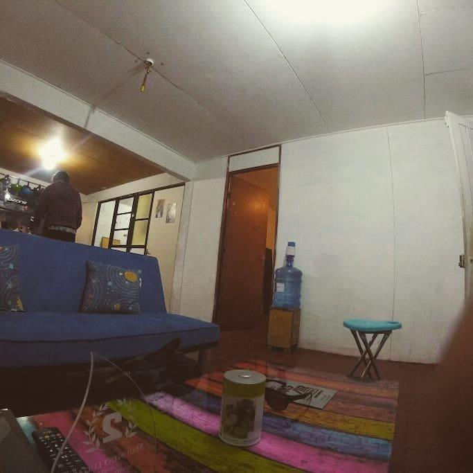 sala de estar con wifi.