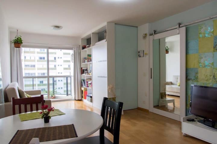 Apartamento inteiro aconchegante no Campo Belo