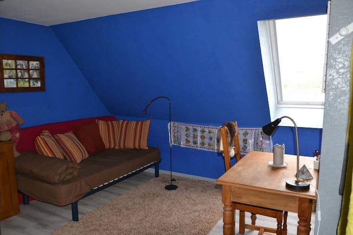 La chambre bleue - Marmoutier