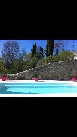 jolie villa Gard proche montpellier - Carnas - House