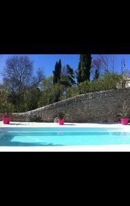 jolie villa Gard proche montpellier - Carnas
